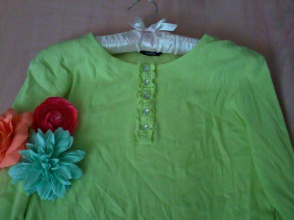 Limonkowa bluzka S...