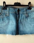mini spódniczka jeansowa r S 36