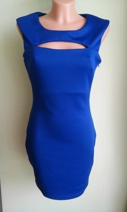 Sukienka ołówkowa chabrowa AX Paris 38 40...