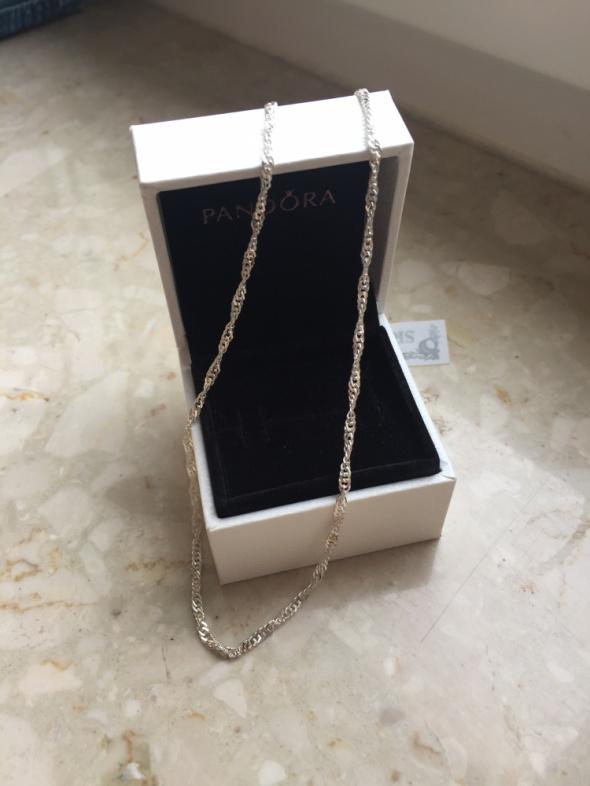 srebrny łańcuszek 925 singapur skręcany