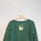 Zielona bluza Diamante wear