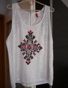 Bluzeczka H&M roz L XL zip