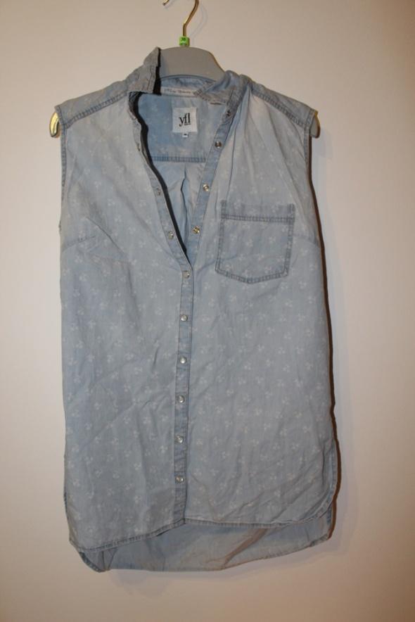 Koszule resrved jeansowa koszula