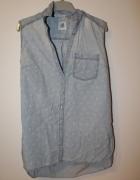 resrved jeansowa koszula