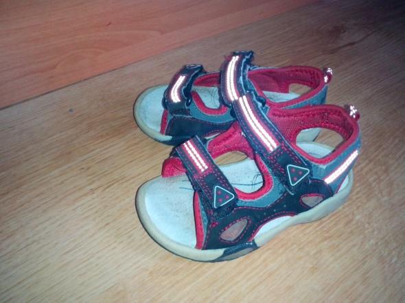 Obuwie Świecące sandałki 23