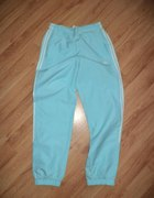 Błękitne spodnie dresowe ADIDAS