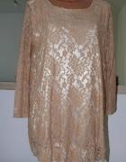 Koronkowa sukienka tunika nowa 4042