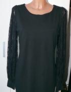 czarna dopasowana sukienka 3840