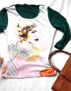 boho bluzka 34 Zalando