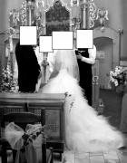 Suknia ślubna z trenem 38 40