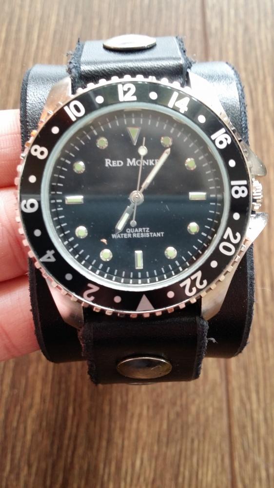 Zegarki Nowy męski zegarek Red Monkey