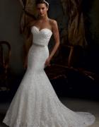 suknia ślubna koronkowa syrena Nowa S M L XL 2XL