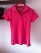 Koszulka polo różowa XS S M L