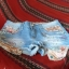 jeansowe spodenki cyrkonie perly