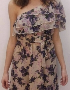 Sukienka falbanki