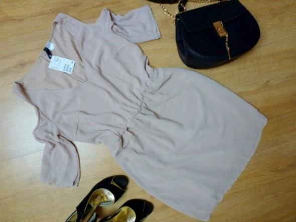 Suknie i sukienki nowa sukienka H&M wycięte ramiona