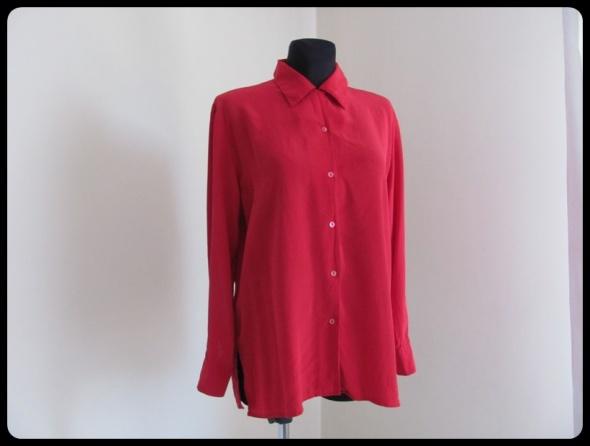 Koszule jedwabna koszula noszona luźniej albo na ok XXL