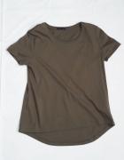 Nowa koszulka khaki Zara