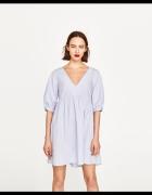 Nowa błękitna sukienka Zara M