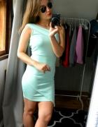 Sukienka Missguided miętowa