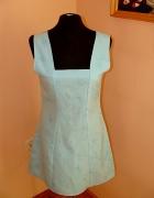 Nowa tania sukienka niebieska metka blekitna zip