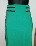 spódnica dopasowana zielona Orsay...
