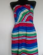 Kolorowa sukienka na lato...