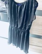 Czarna sukieneczka mgiełka mohito L XL