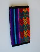 Portfel w azteckie wzory kolorowy