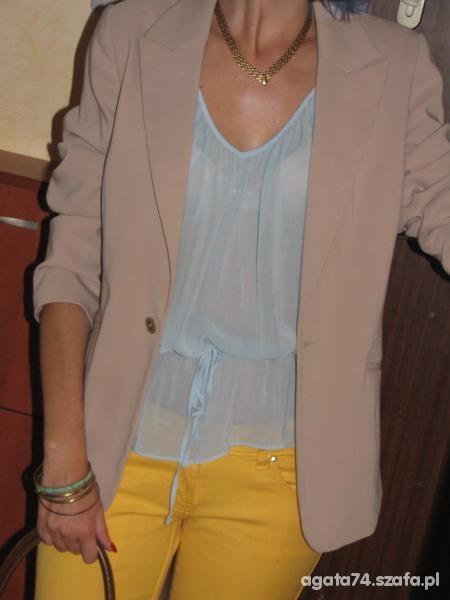 Mój styl błekit i żółć