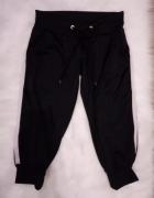 czarne spodnie dresowe Terranova