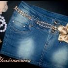 CUDNA nowa spodniczka jeans