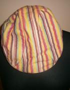 Kaszkiet w kolorowe paski