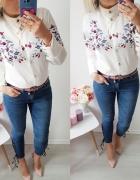 Koszula meadow kwiaty guziki
