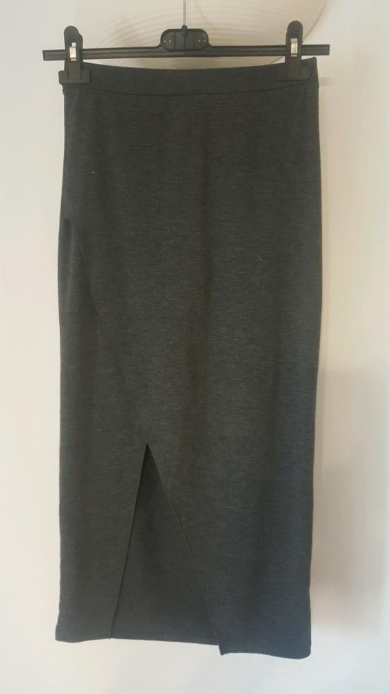 Spódnice Asymetryczna spódnica midi