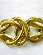 Elegancki złota klamra cudo