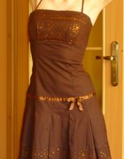 elegancka sukienka na wesele 34 36 XS S