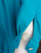 Nowa bluzka kopertowa Szmaragdowa