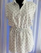 Biała tunika koszula r L