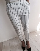 spodnie prążkowane