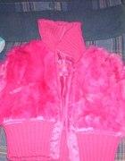 neonowa różowa kurteczka