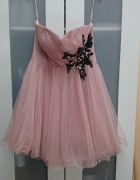 Nowa tiulowa sukienka rozkloszowana S