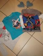 Zestaw chłopiec bluzki Star Wars Batman roz 110 116