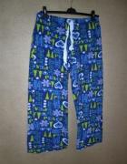 3 PARY Polarowe damskie spodnie od piżamy 42 4