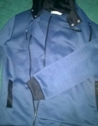 ciepła bluza stalowo niebieska rozmiar M...