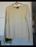 Selected Femme bezowy sweter oversize nude