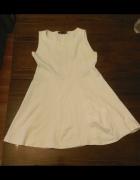 Zara biała sukienka...