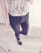 Czarne jeansy rurki M Reserved