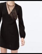 sukienka lekka elegancka boho Zara