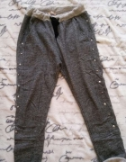 Spodnie dresowe baggy S